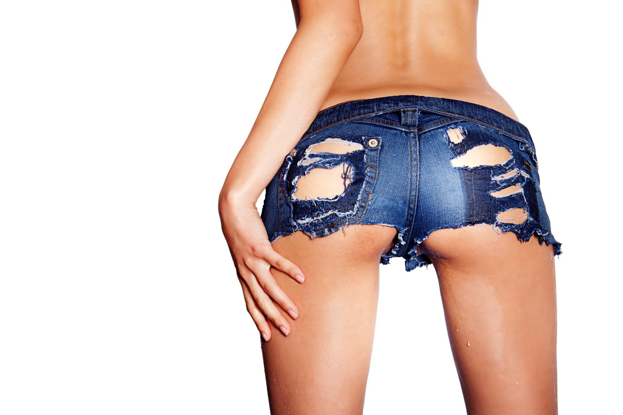 Фото попки в джинсовых шортиках 30 фотография