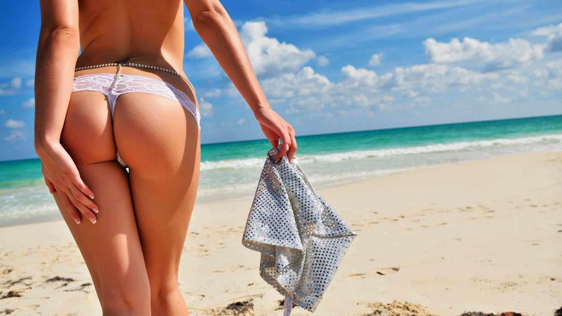 Тело девушки на пляже 13 фотография