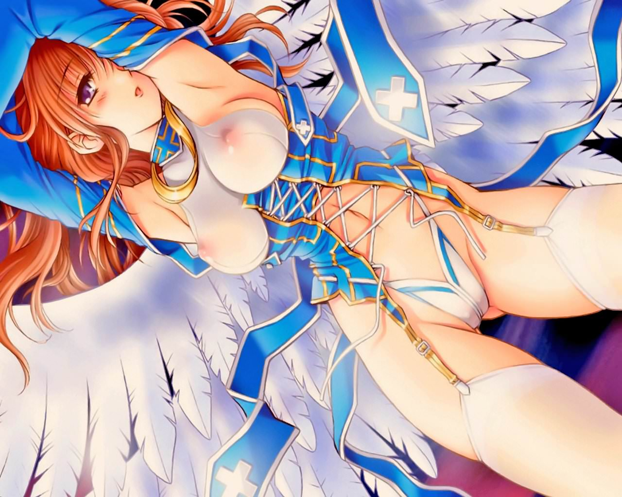 Секс аниме с ангелами 9 фотография