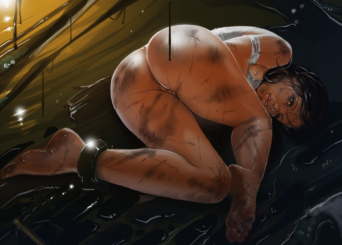 Прикованные голые девушки 7 фотография