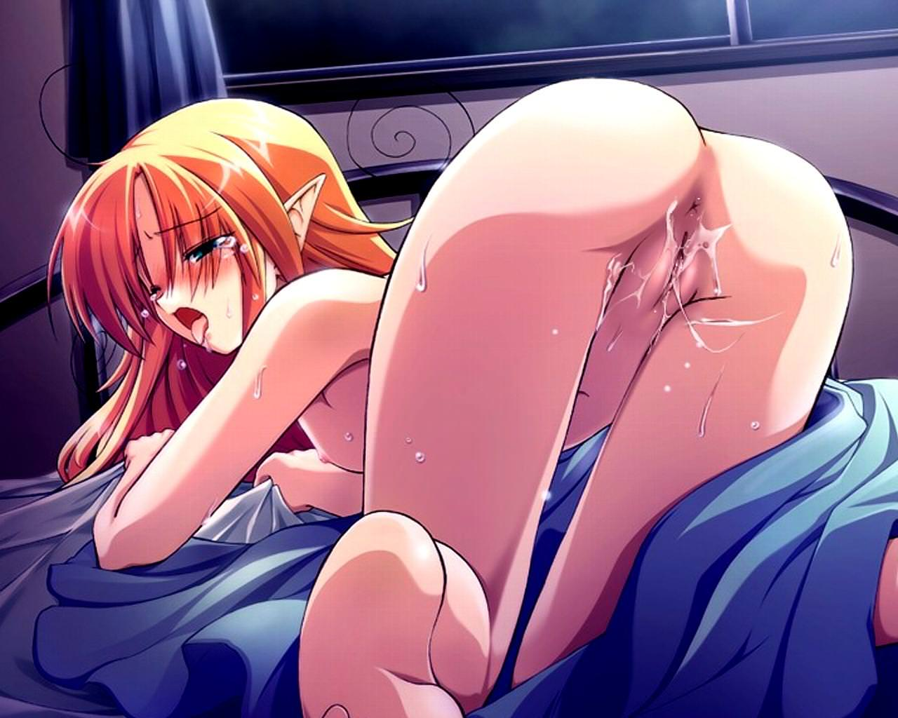 Download video anime hentai elf exposed images