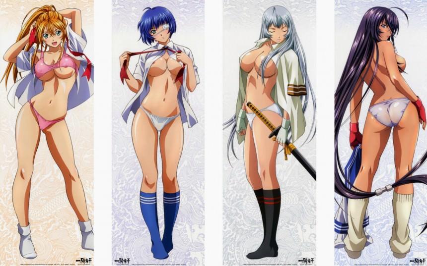 Хентай картинки девушки из аниме блич 5 фотография