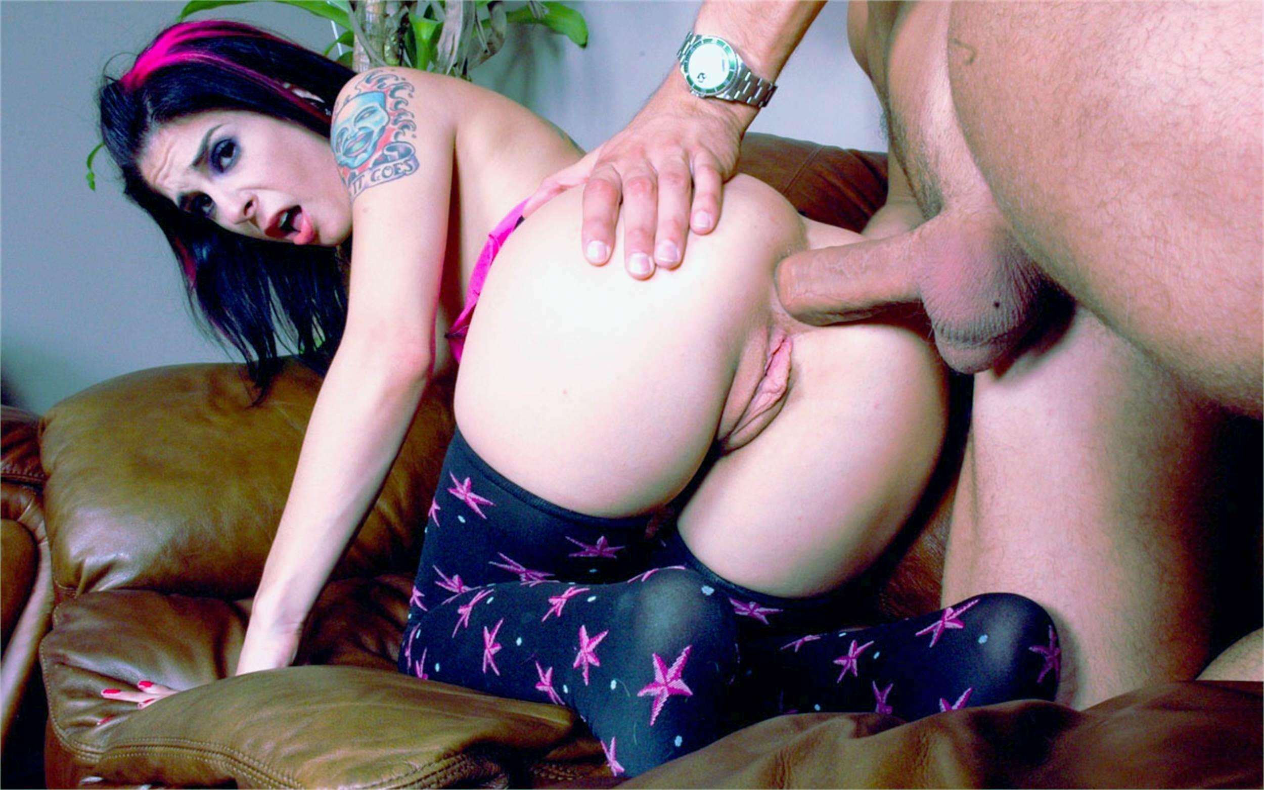 Секс в анал с девушкой в чулках фото 4 фотография