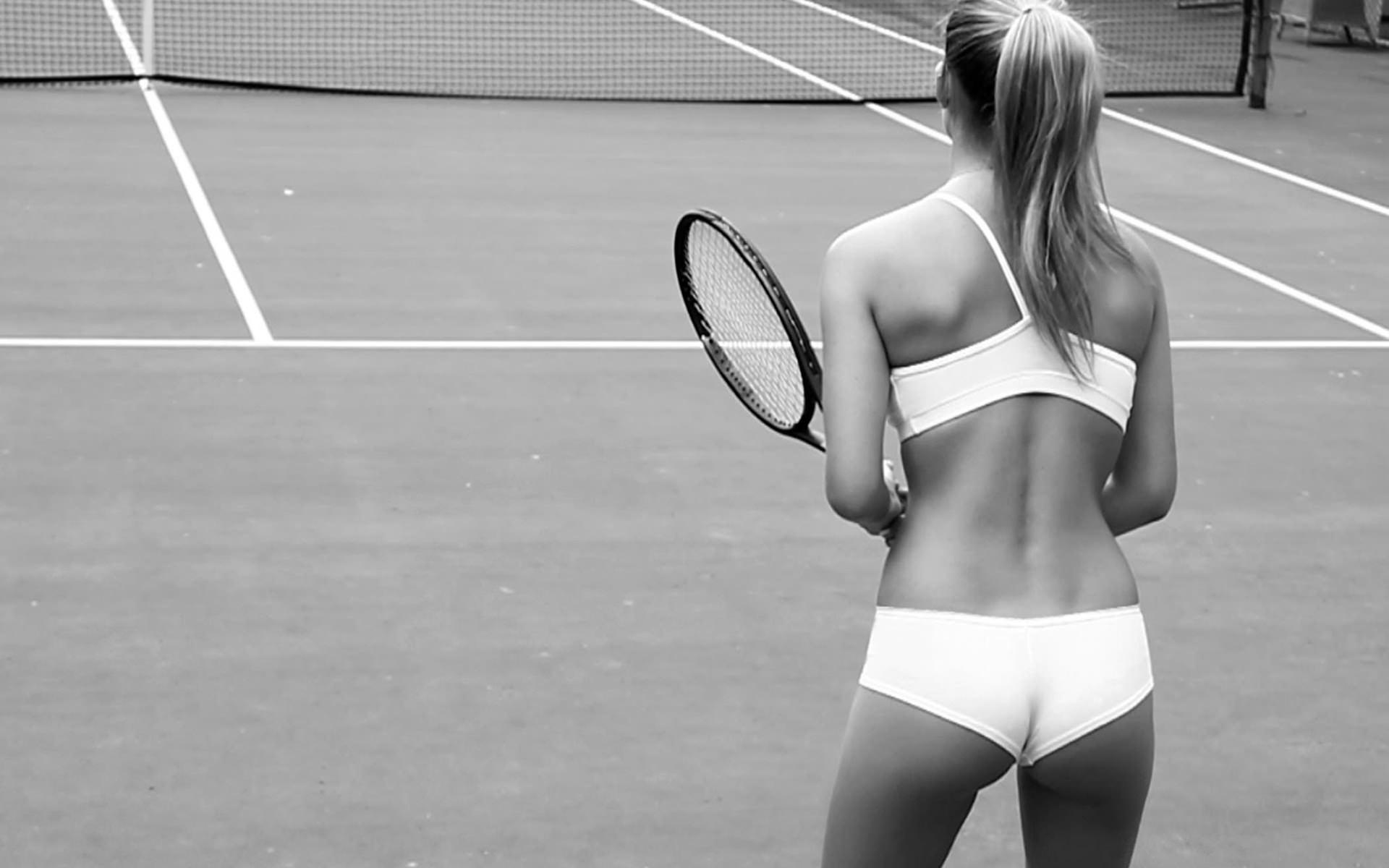 Теннисистки и их трусики 16 фотография