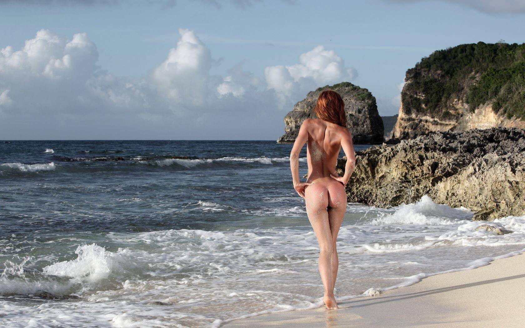Экзотический секс вдвоем на берегу моря фото 7 фотография