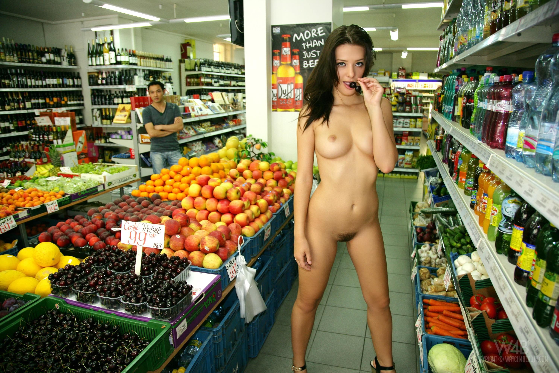 Секс в продуктовом магазине 15 фотография