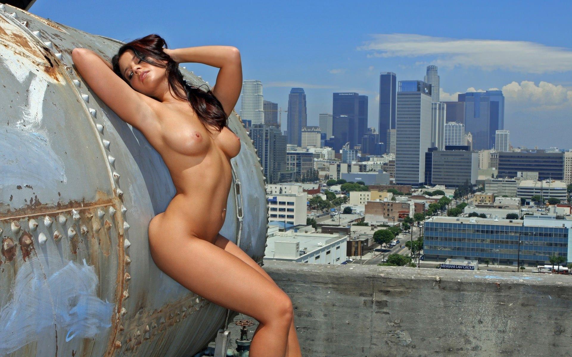 Секс на крыши русское 18 фотография