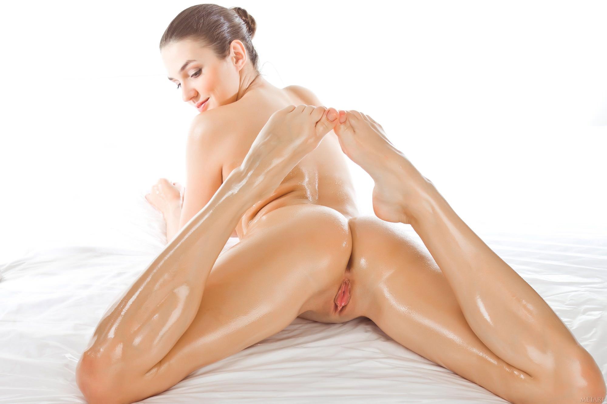 Порно Фото В Девушки Масле