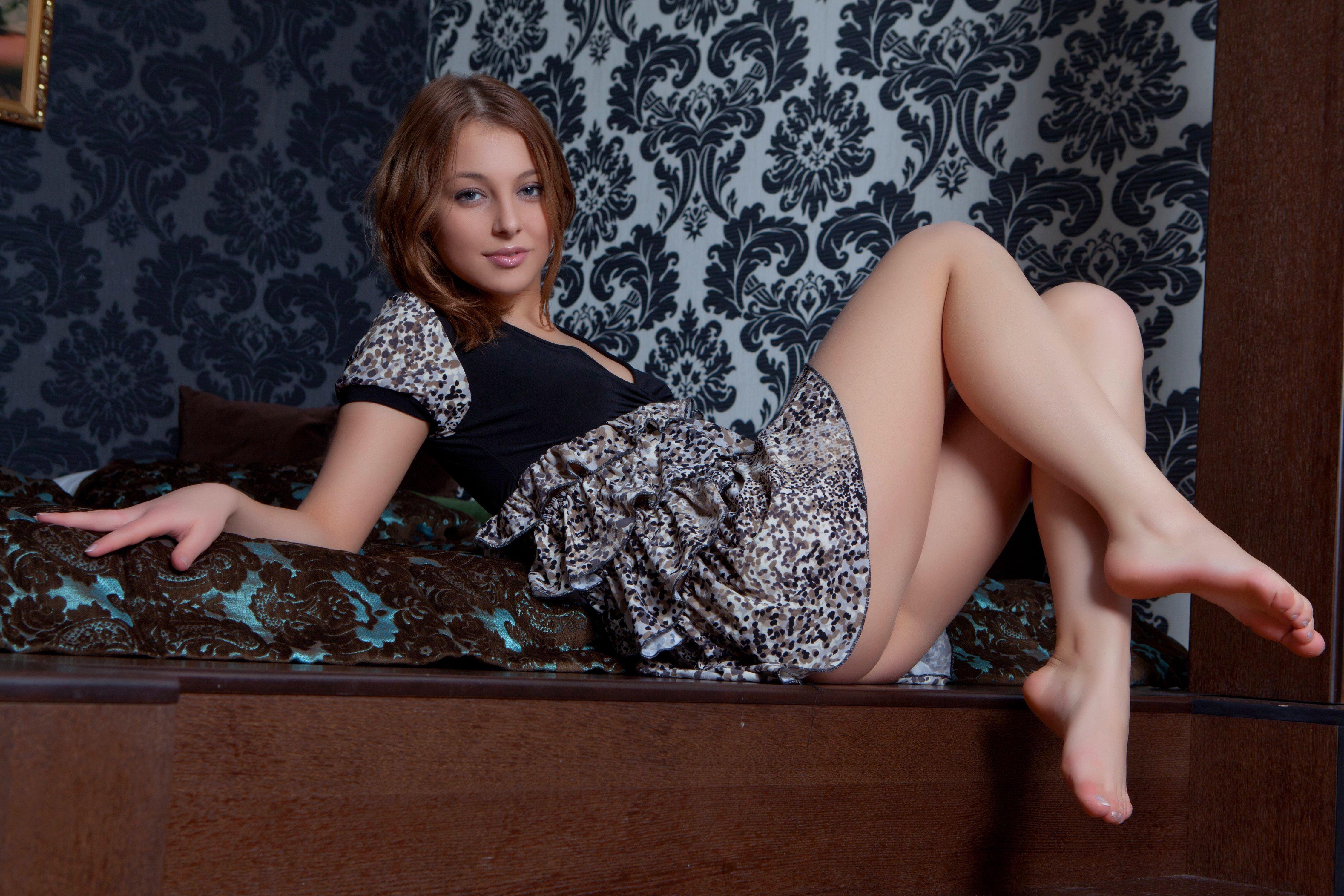 Худенькая и с косичками секс, косички 4 фотография