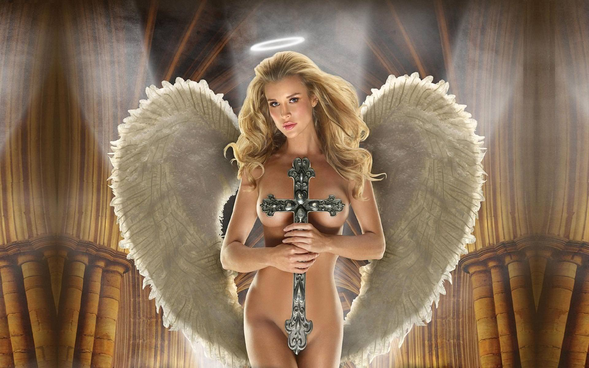 фото голый ангел с крыльями